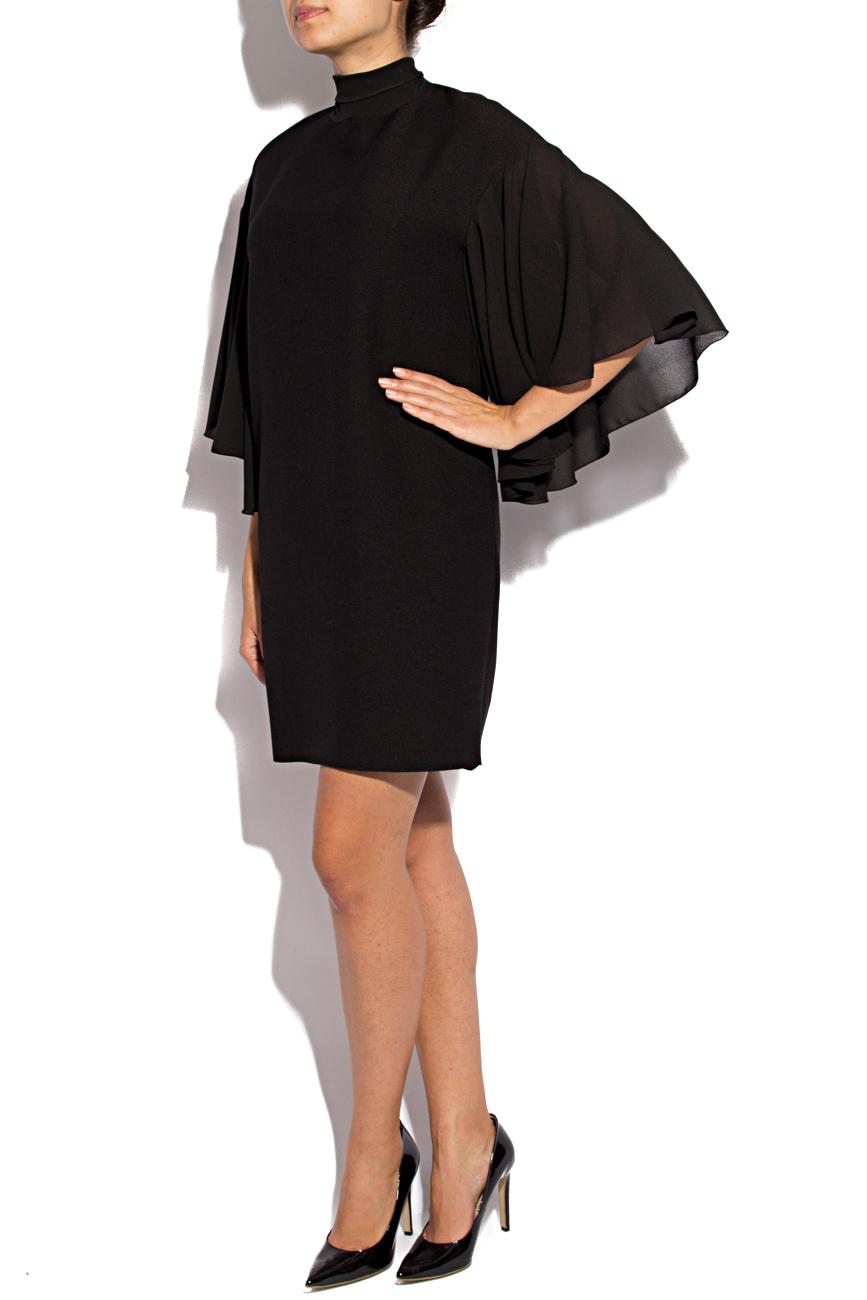 Triple veil black dress Lena Criveanu image 1