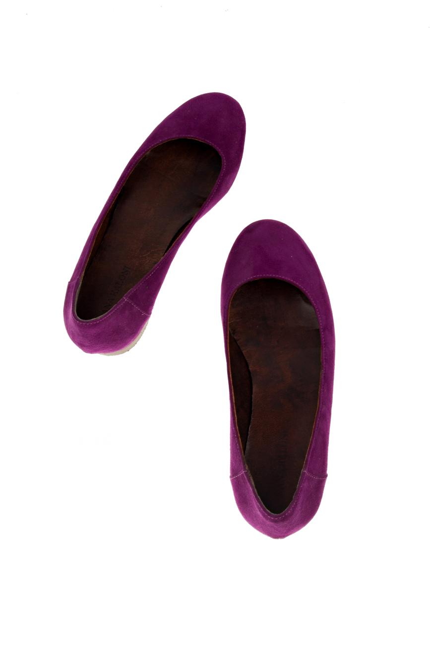 Purple flats Ana Kaloni image 3