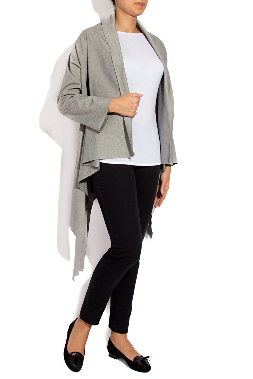 Light gray cardigan Dorin Negrau image 1
