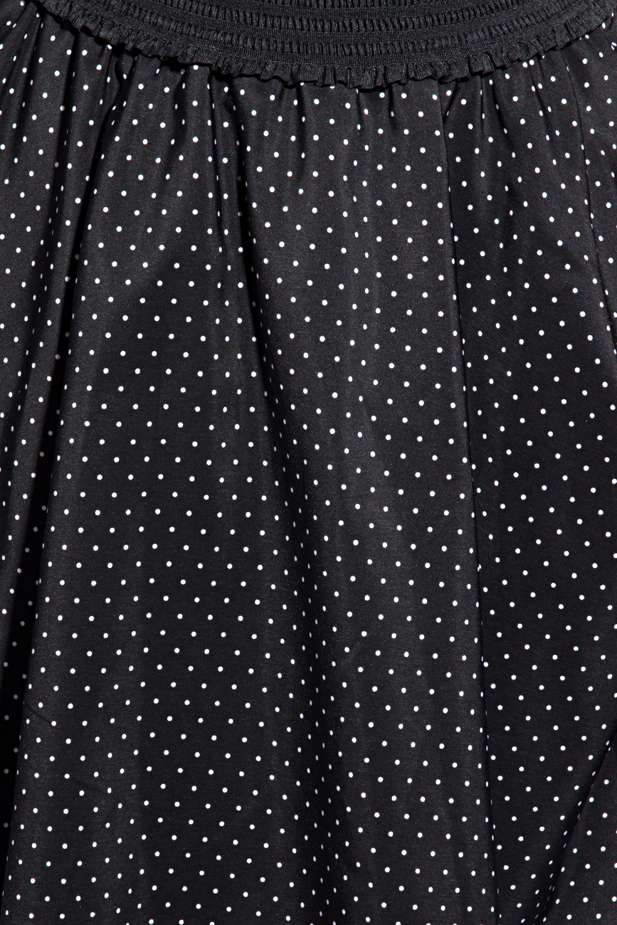 Skirt with dots Mihaela Cirlugea  image 3