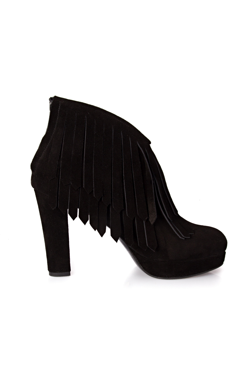 Ankle boots with fringes Ana Kaloni image 1