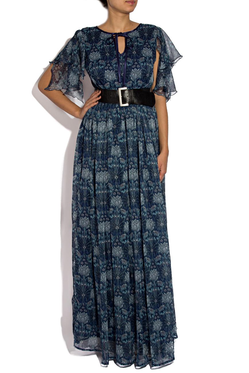 Printed long dress Cristina Staicu image 0