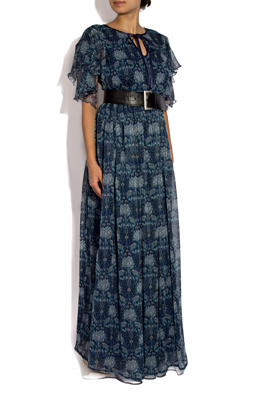 Printed long dress Cristina Staicu image 1