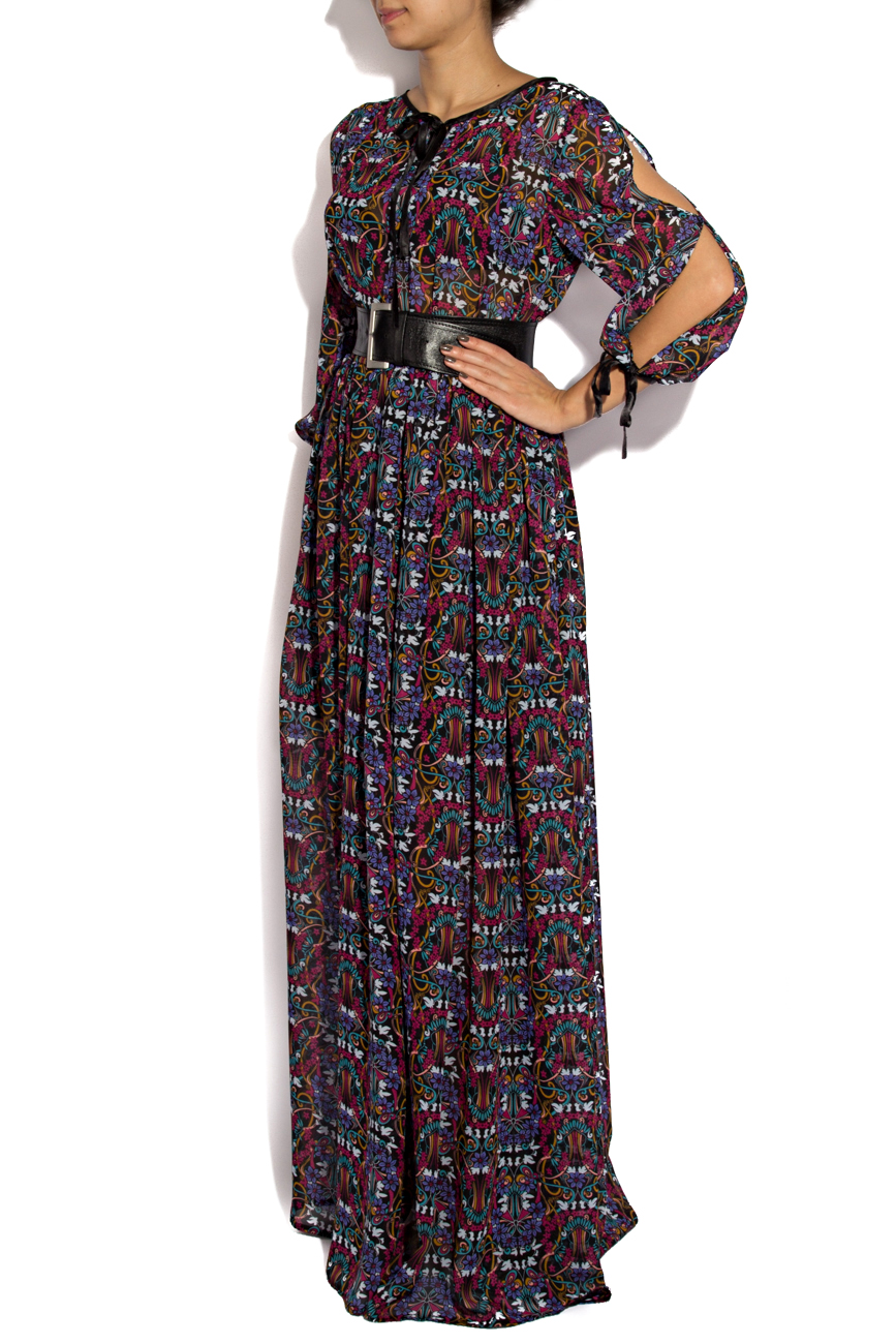 Dress with floral print Cristina Staicu image 1