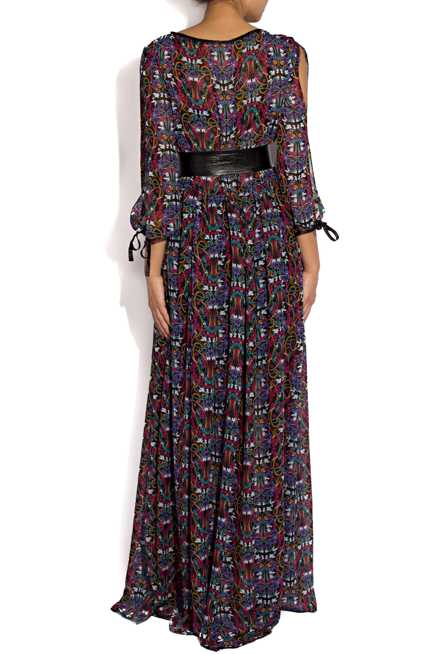 Dress with floral print Cristina Staicu image 2