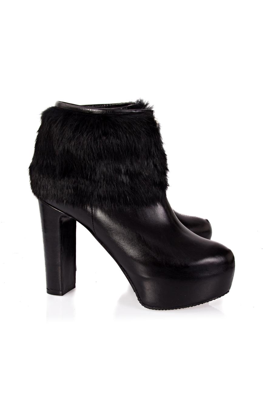 Boots with detachable fur Ana Kaloni image 0