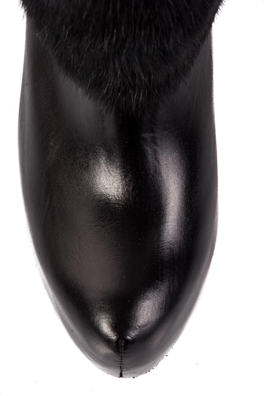 Boots with detachable fur Ana Kaloni image 3