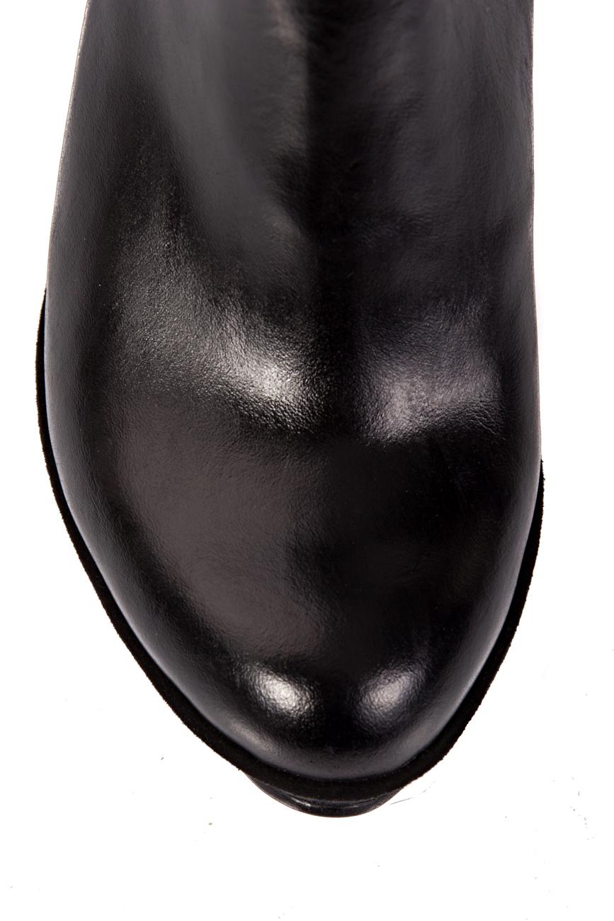 Black boots with platform Ana Kaloni image 3