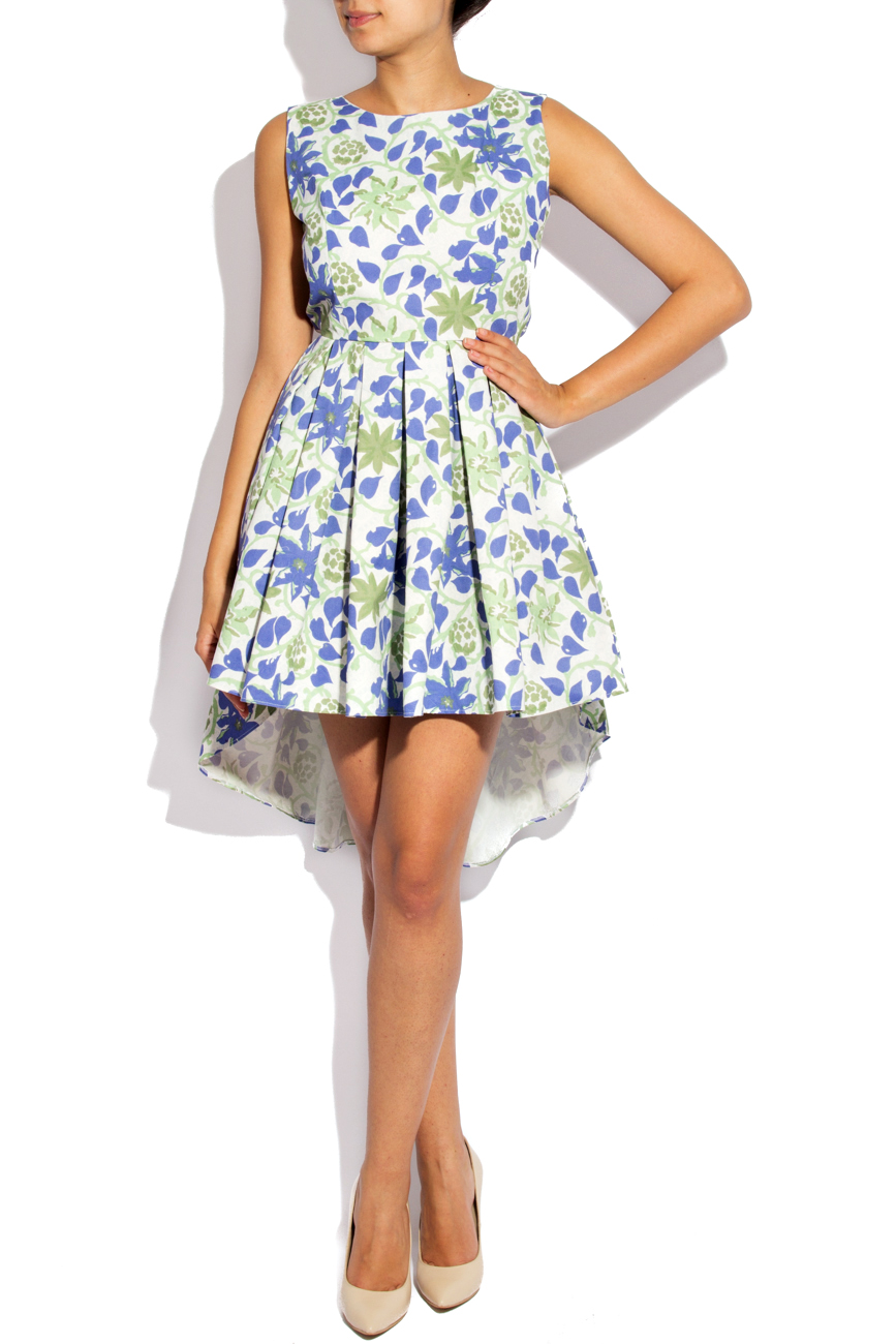 Asymmetrical Cotton Dress Izabela Mandoiu image 0