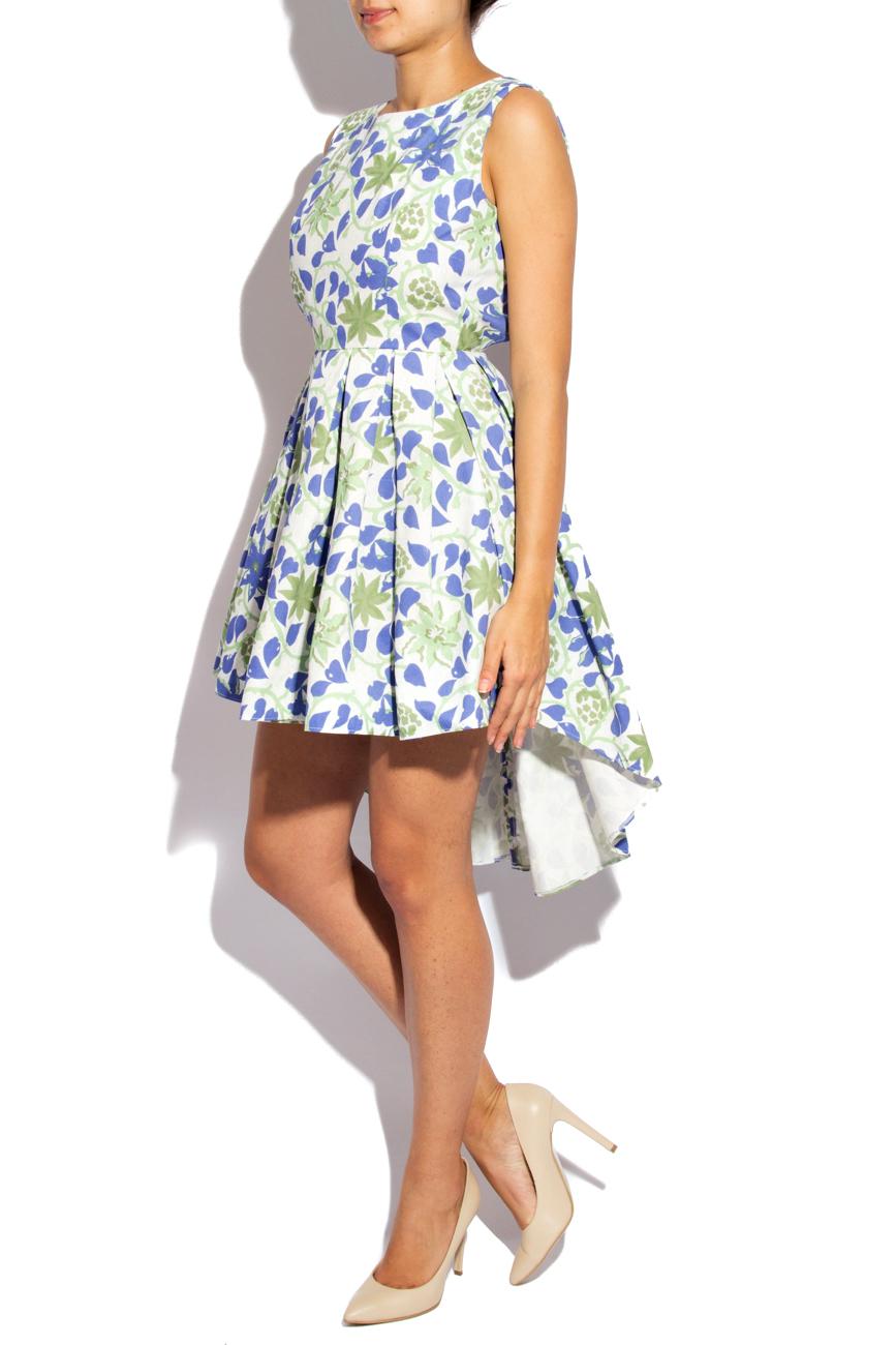 Asymmetrical Cotton Dress Izabela Mandoiu image 1