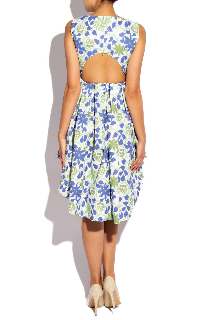 Asymmetrical Cotton Dress Izabela Mandoiu image 2