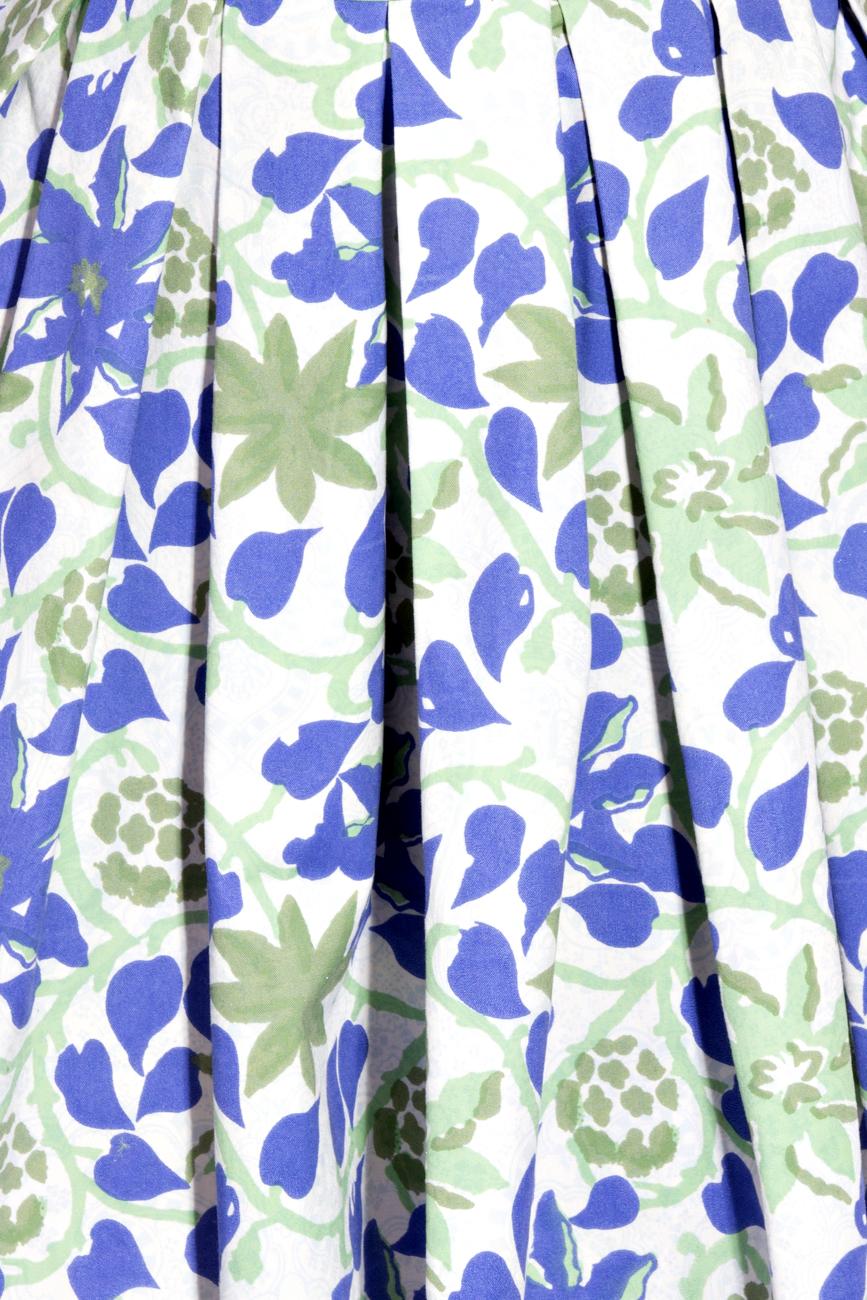Asymmetrical Cotton Dress Izabela Mandoiu image 3