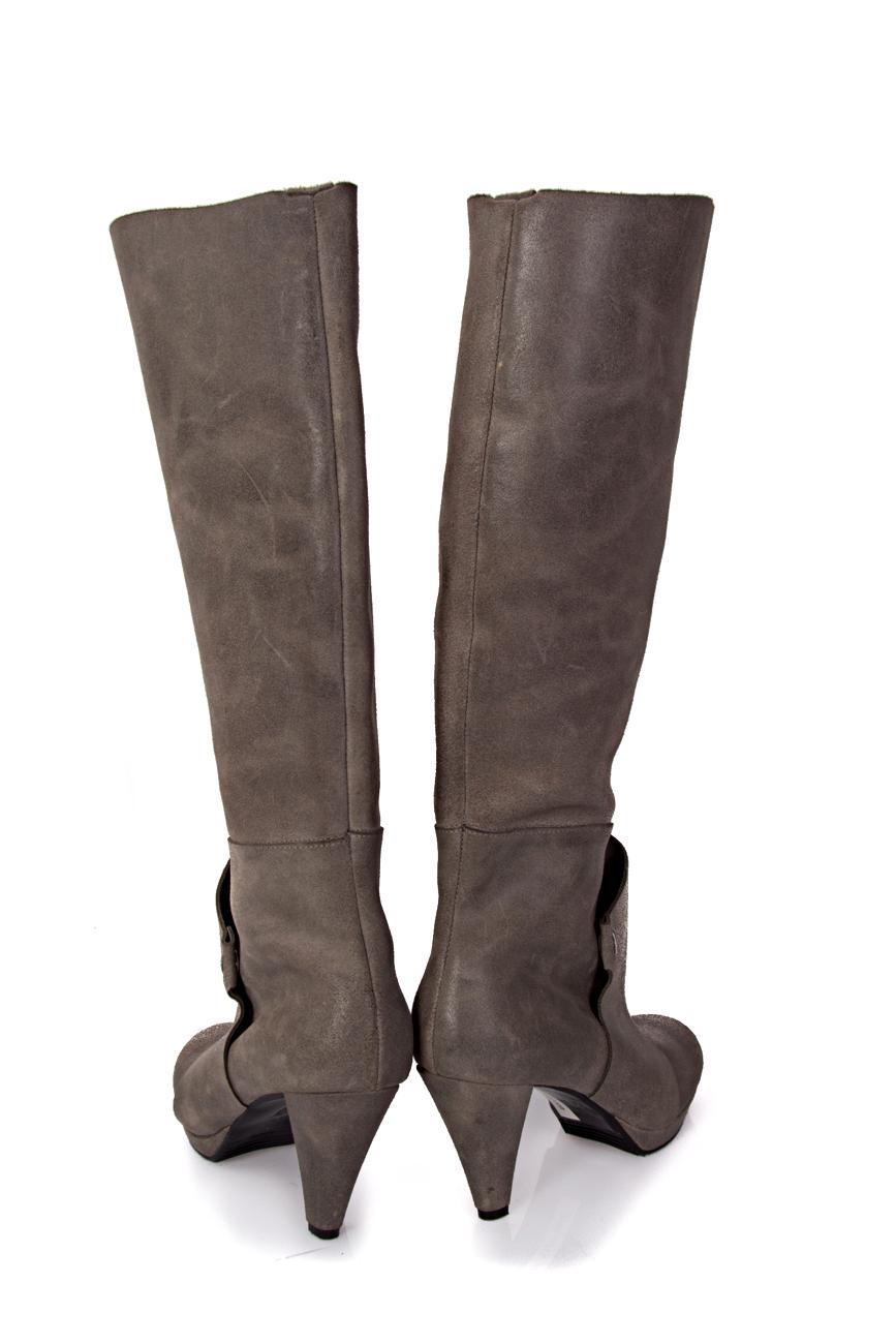 Grey boots Mihaela Glavan  image 2