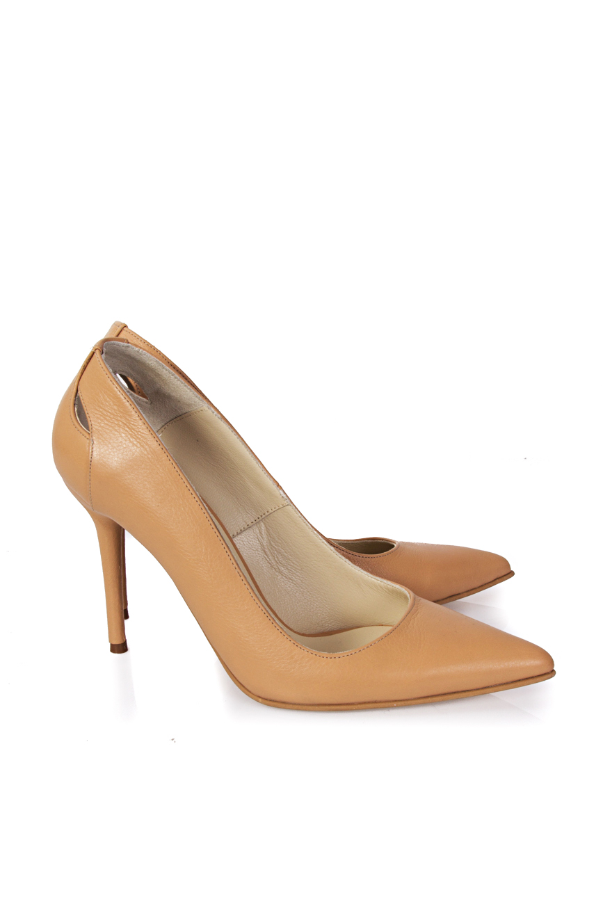 Cut out beige shoes Mihaela Glavan  image 0