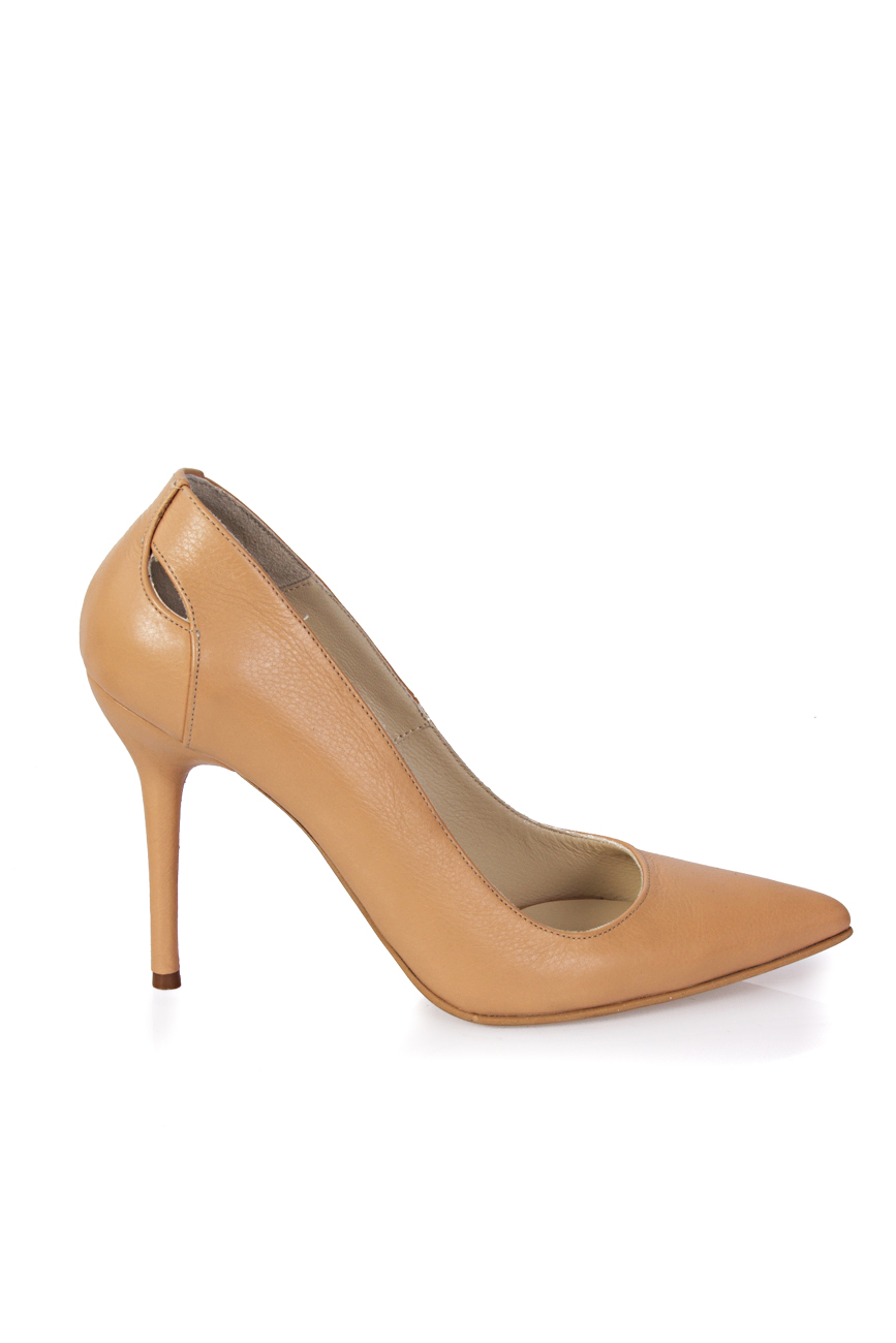 Cut out beige shoes Mihaela Glavan  image 1