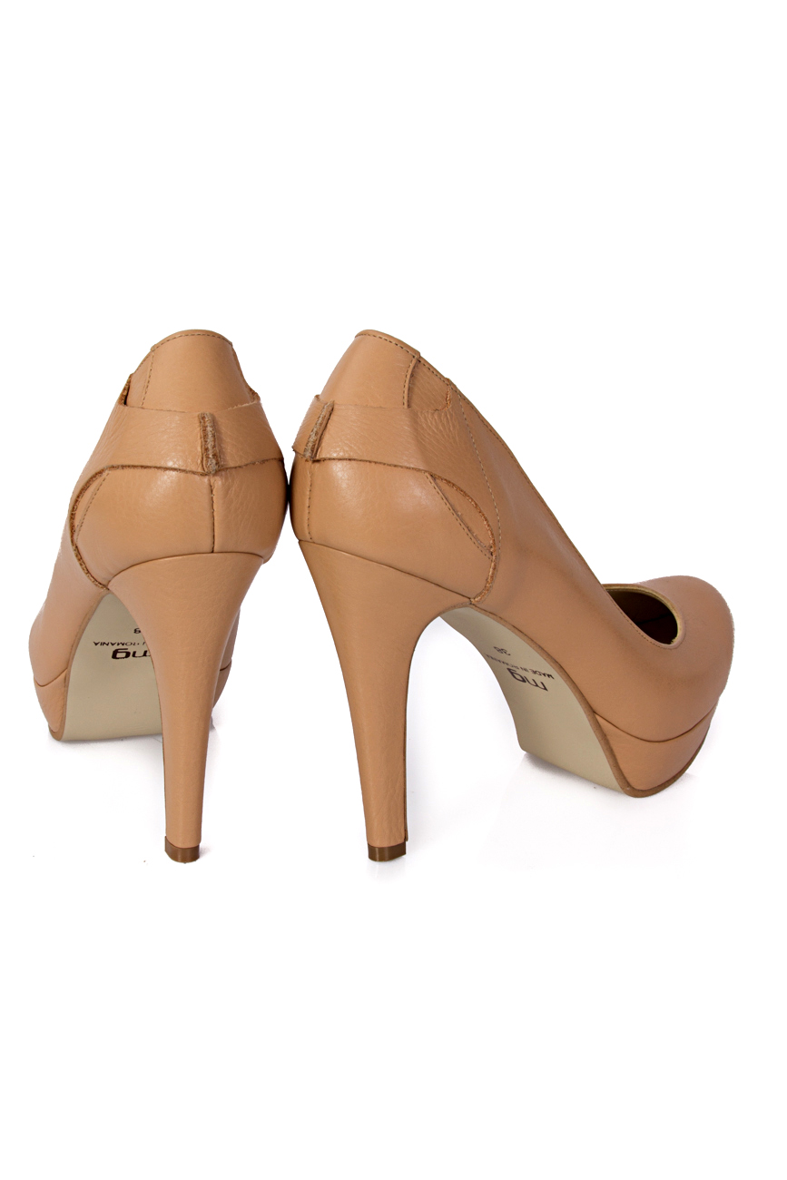 Beige shoes with platform Mihaela Glavan  image 2
