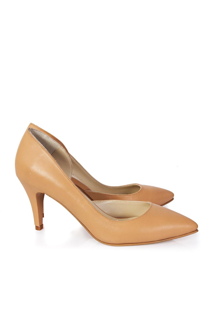 Pantofi decupati lateral Mihaela Glavan  imagine 0