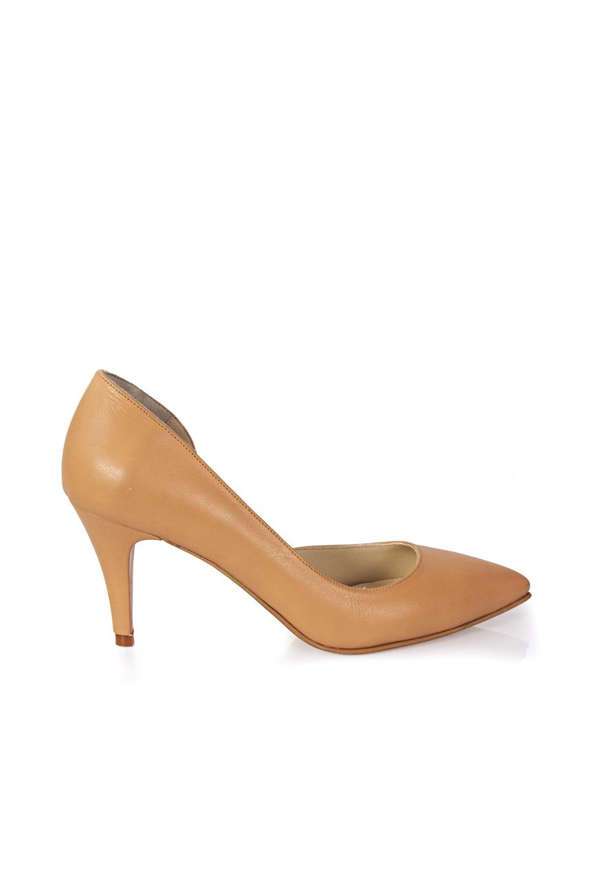 Pantofi decupati lateral Mihaela Glavan  imagine 1