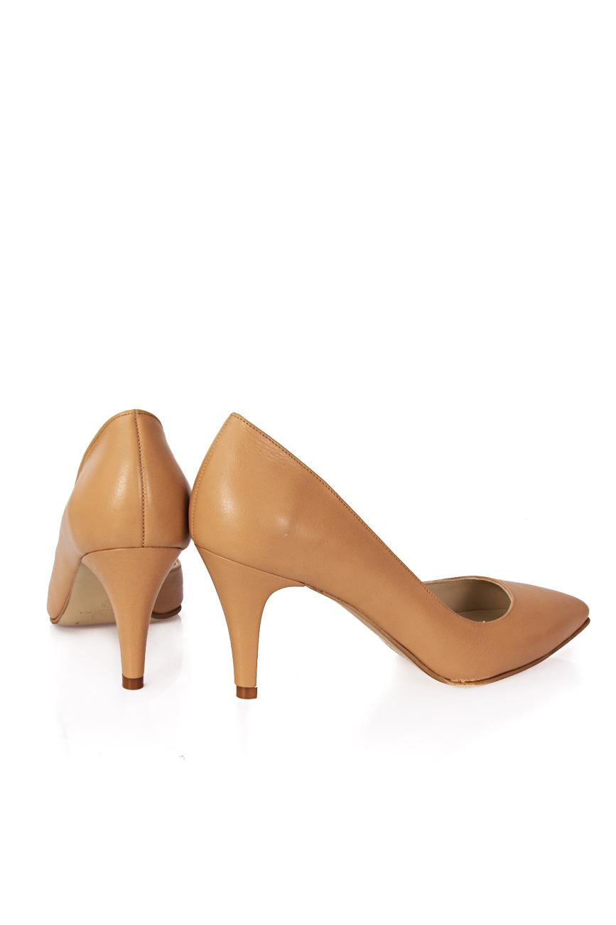 Pantofi decupati lateral Mihaela Glavan  imagine 2