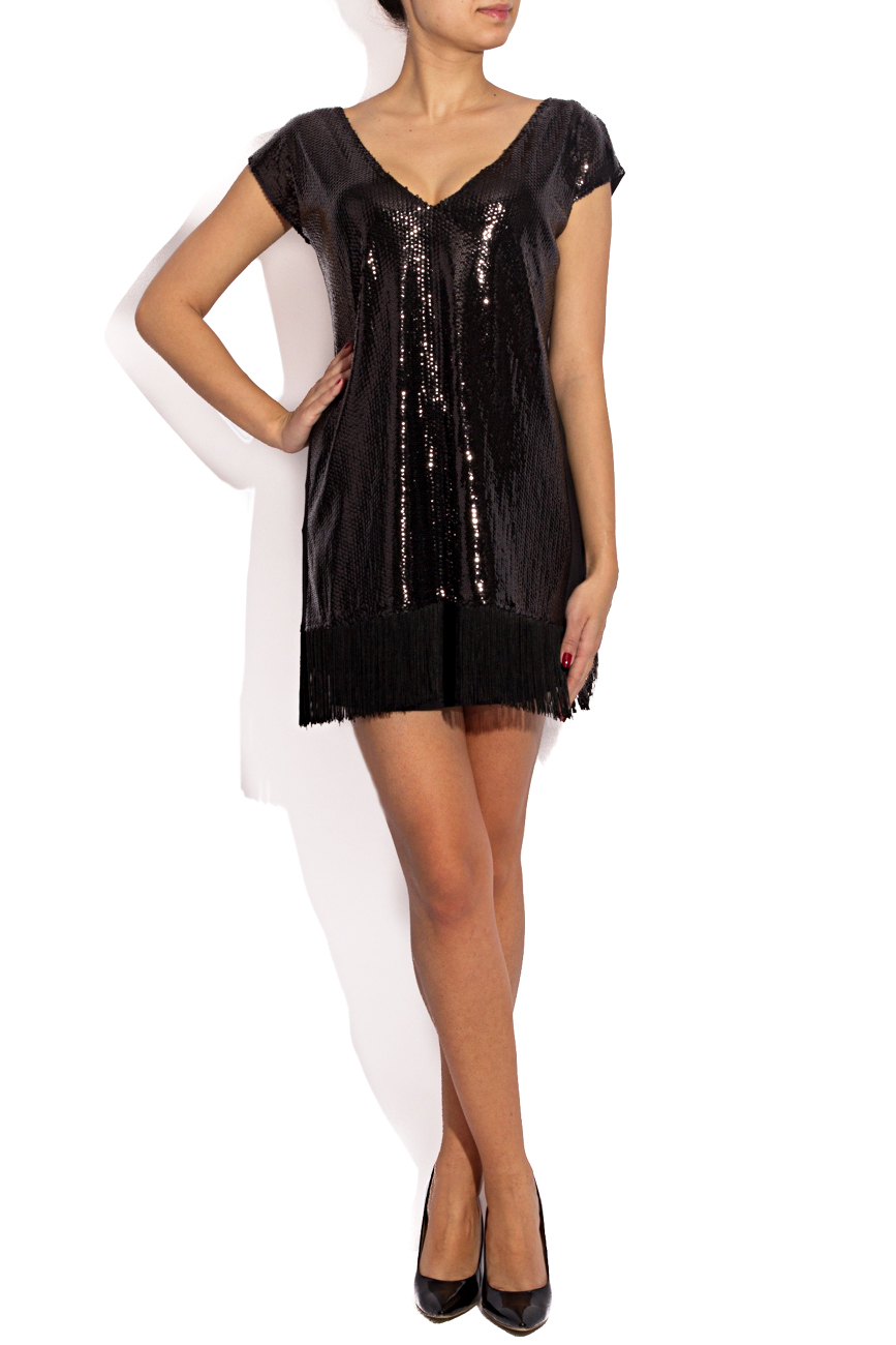 Sequined dress with fringes Karmen Herscovici image 0