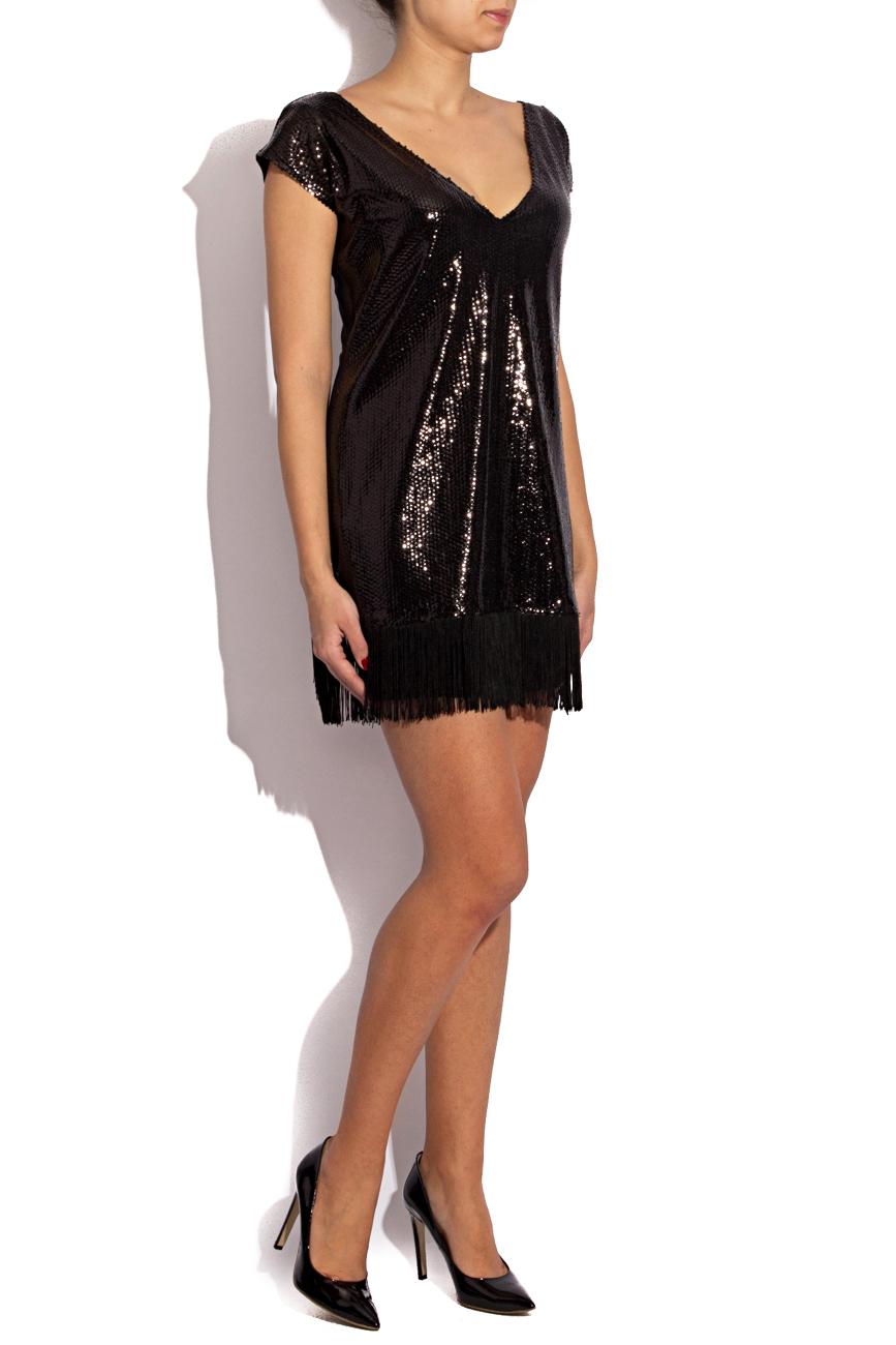 Sequined dress with fringes Karmen Herscovici image 2