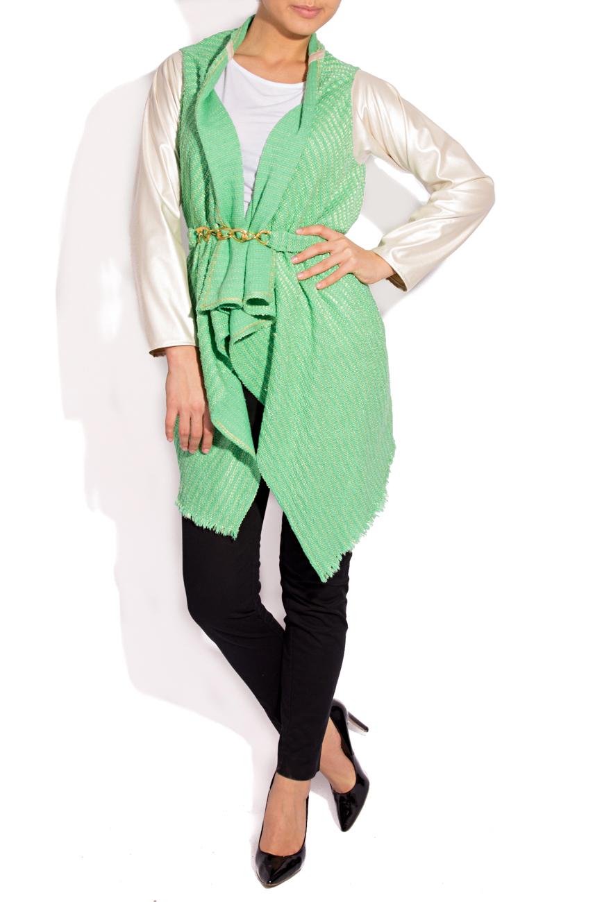 Jacheta verde auriu  B.A.D. Style by Adriana Barar imagine 0