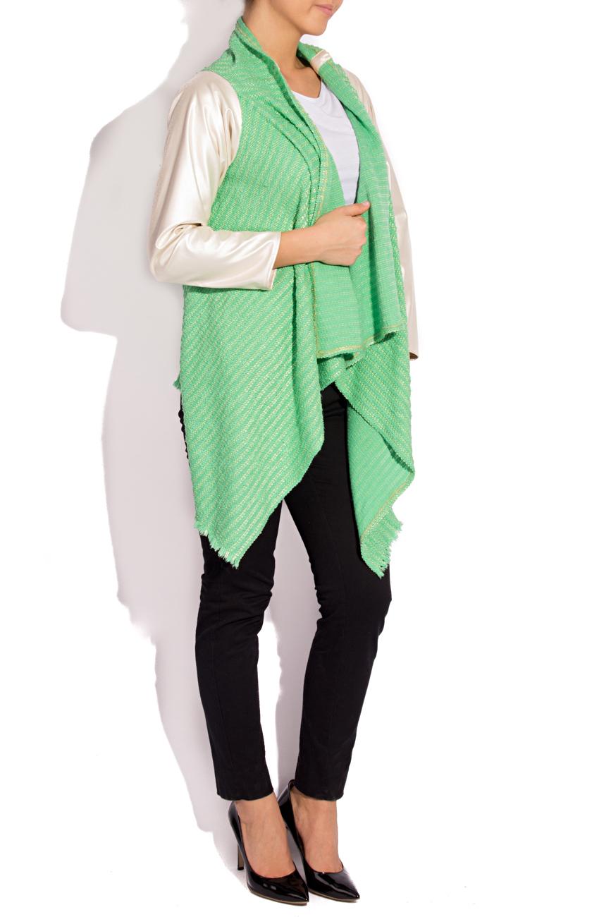 Jacheta verde auriu  B.A.D. Style by Adriana Barar imagine 1