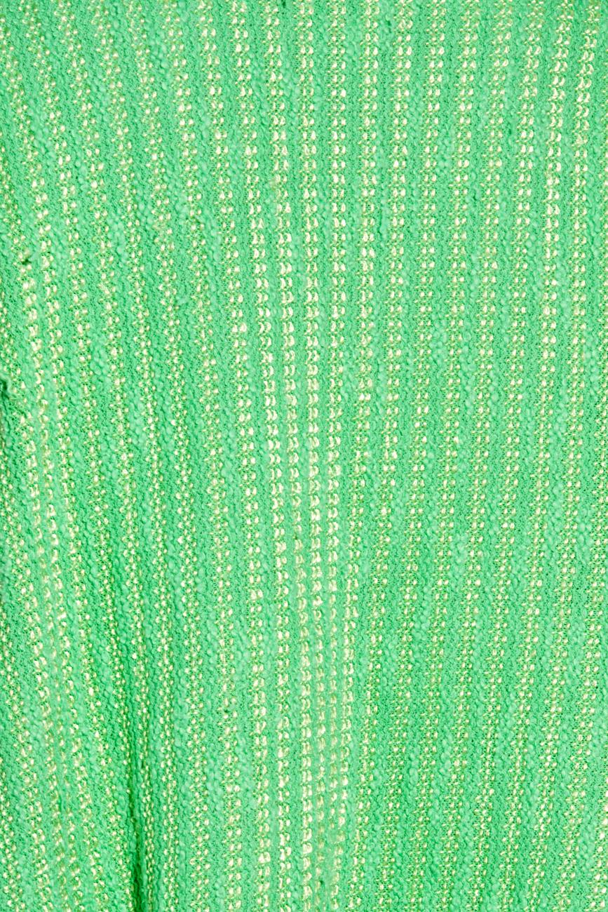 Jacheta verde auriu  B.A.D. Style by Adriana Barar imagine 3