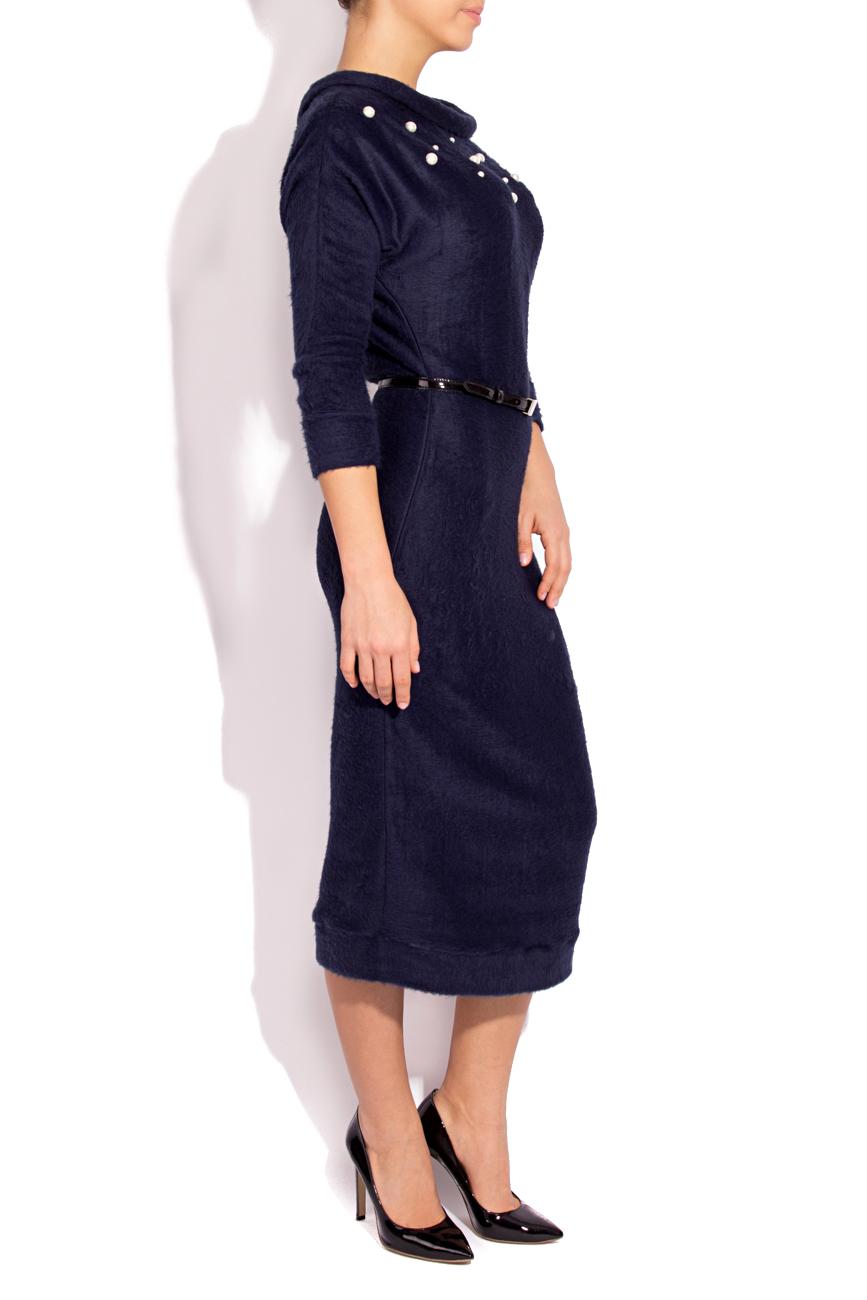 Navy Blue Dress Angora Laura Firefly image 1