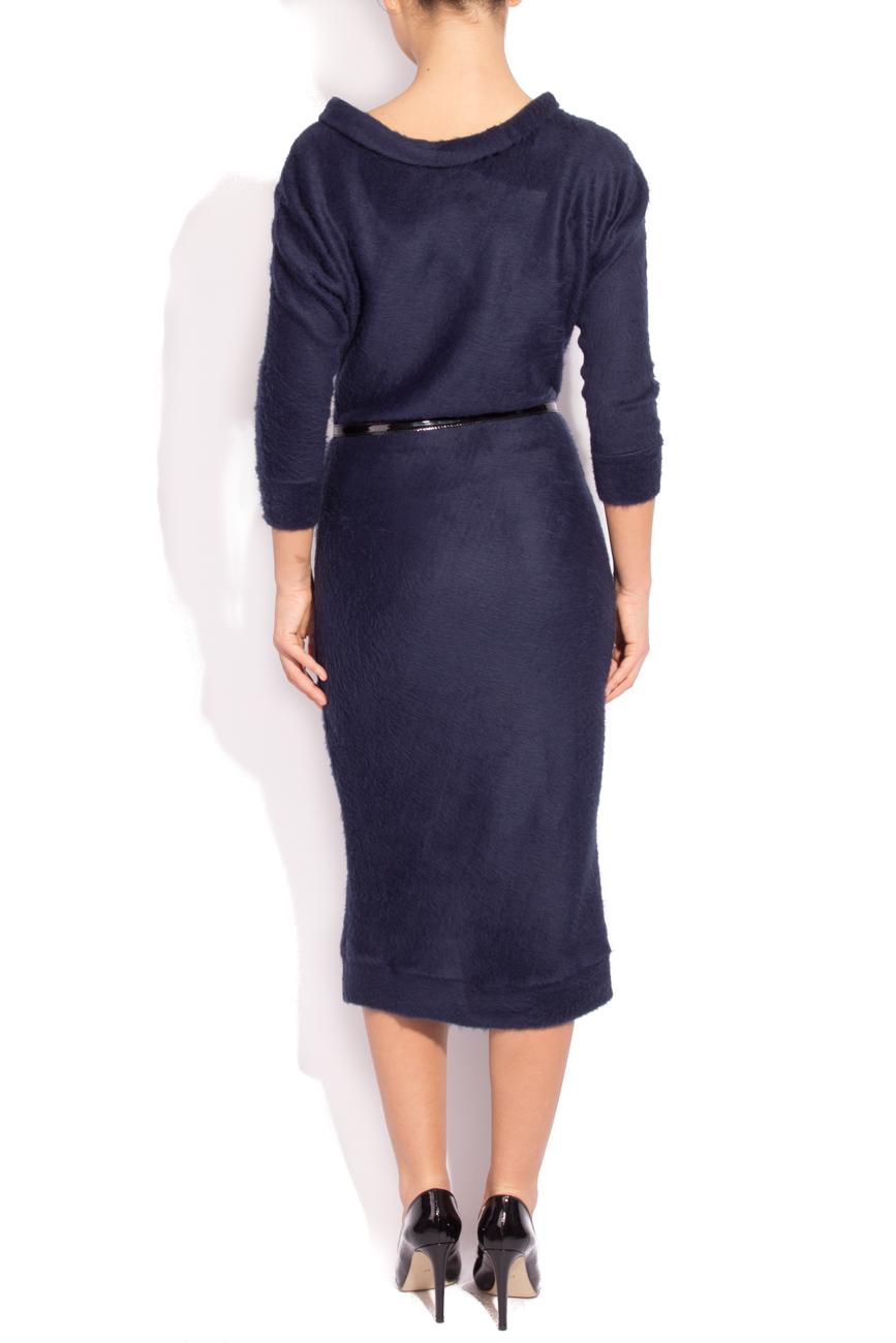 Navy Blue Dress Angora Laura Firefly image 2