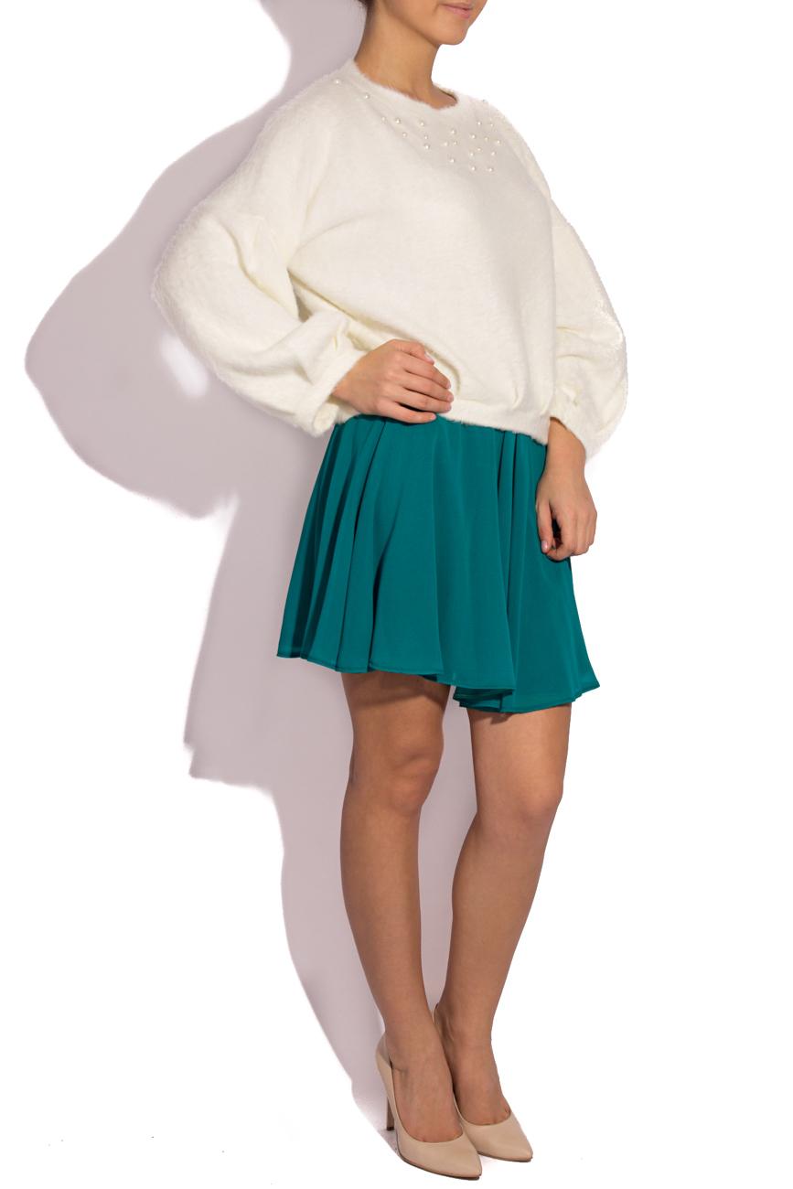 Bluza ANGORA WHITE SHORTY Laura Firefly imagine 1