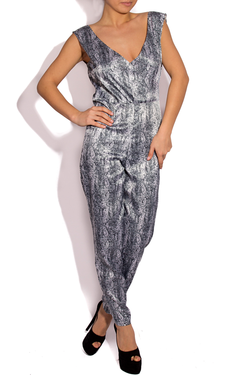 SNAKE PRINT coverall Laura Firefly image 0