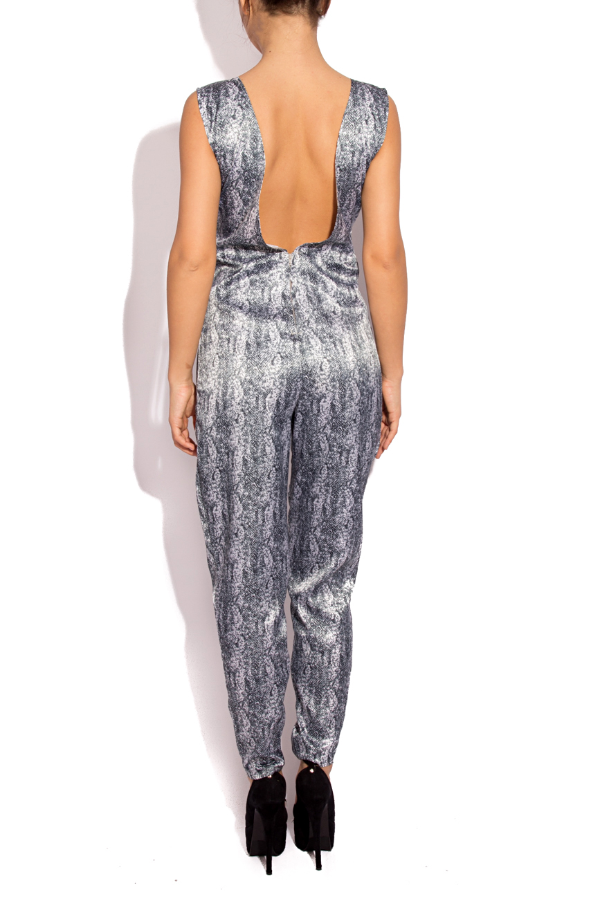 SNAKE PRINT coverall Laura Firefly image 2