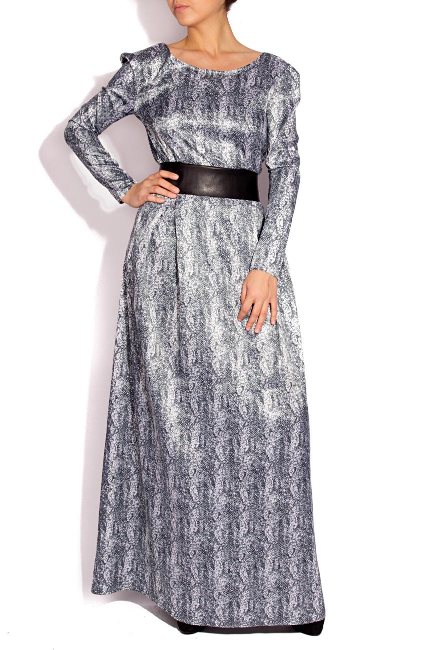 Robe imprimé serpent Laura Firefly image 0