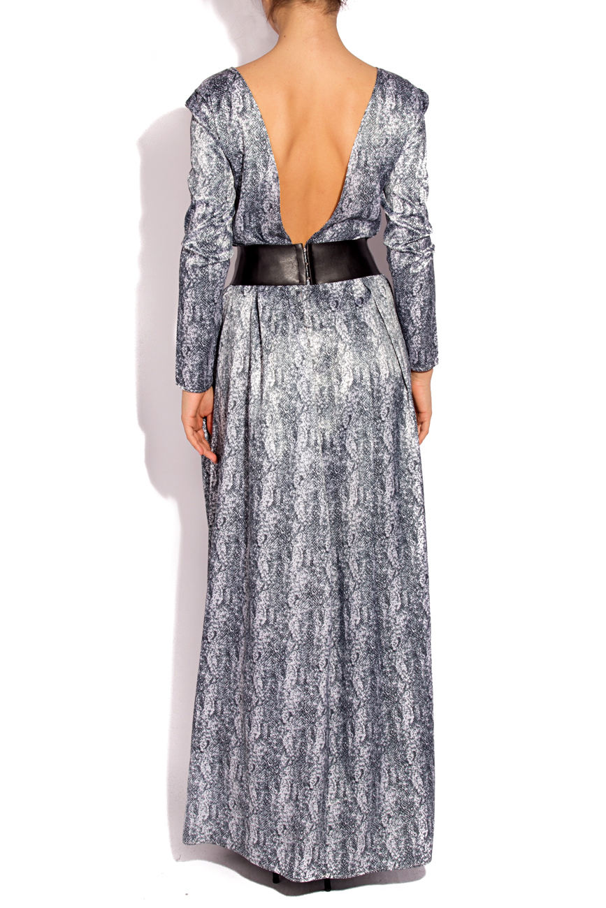 Robe imprimé serpent Laura Firefly image 2