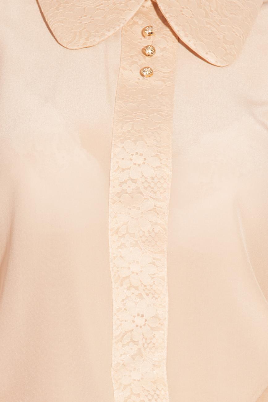 Silk and lace blouse T'esha by Diana Tatucu image 3