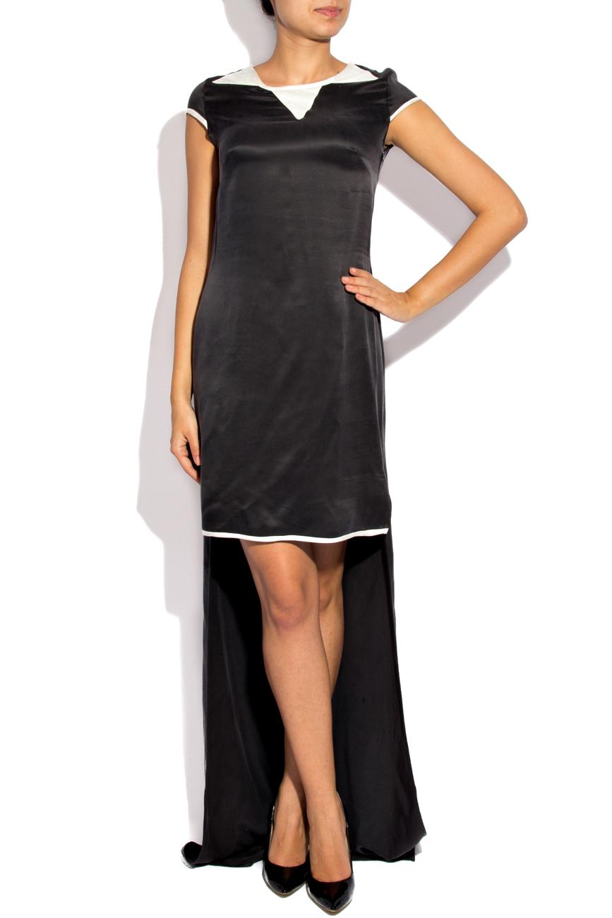 Asymmetrical Silk Dress Izabela Mandoiu image 1