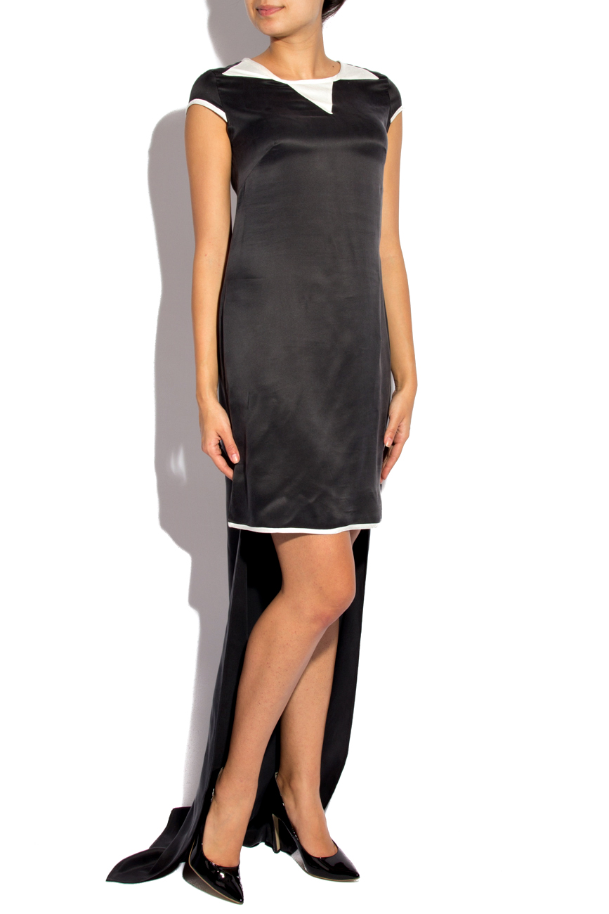 Asymmetrical Silk Dress Izabela Mandoiu image 0