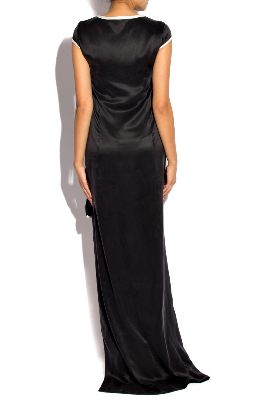 Asymmetrical Silk Dress Izabela Mandoiu image 2