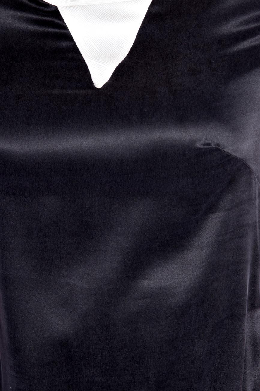 Asymmetrical Silk Dress Izabela Mandoiu image 3