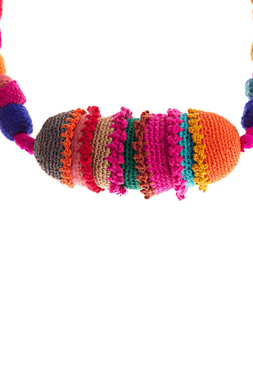 Multicolored necklace 1 Gabriela Urda image 1