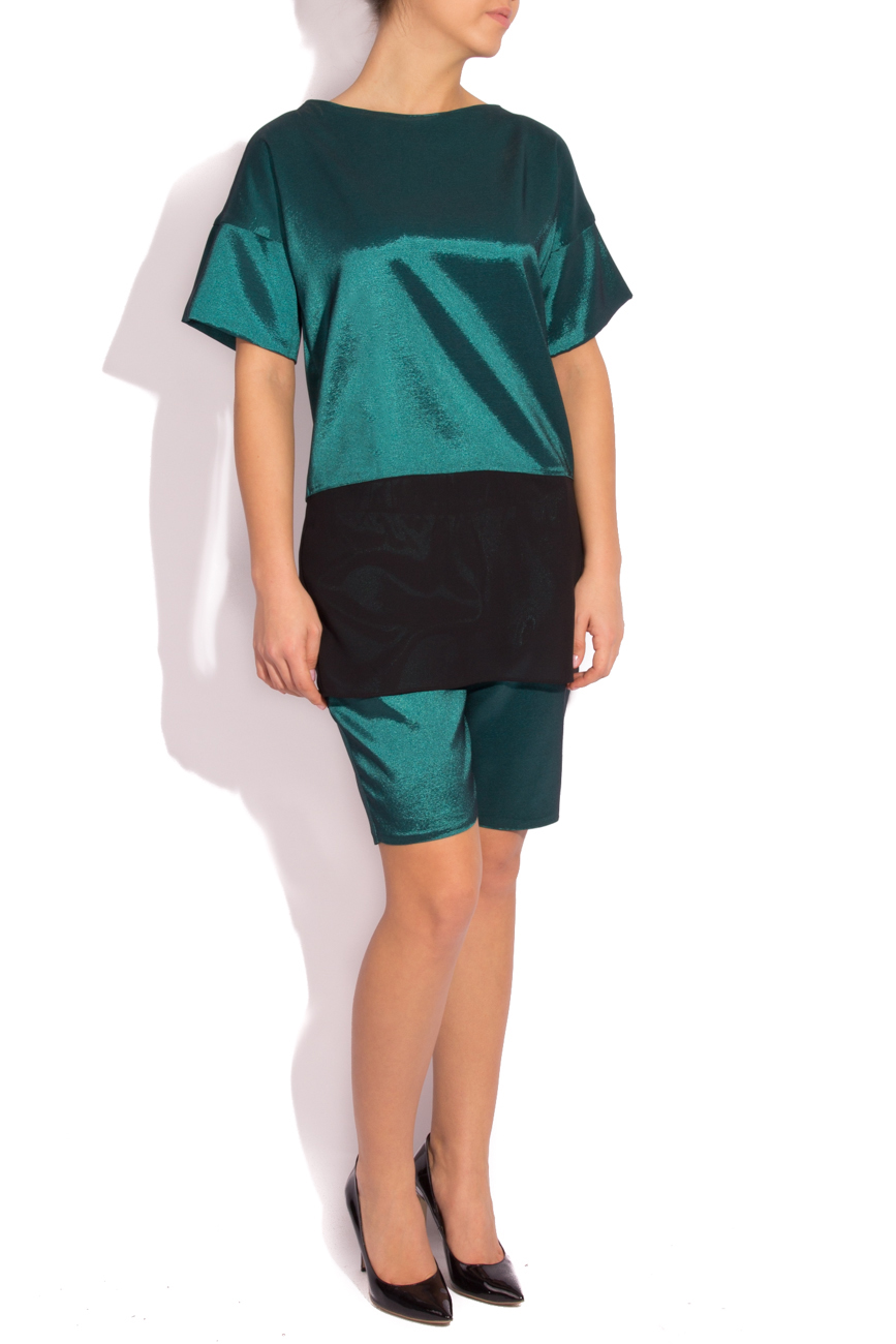 Pantalon vert émeraude Rue des Trucs image 1