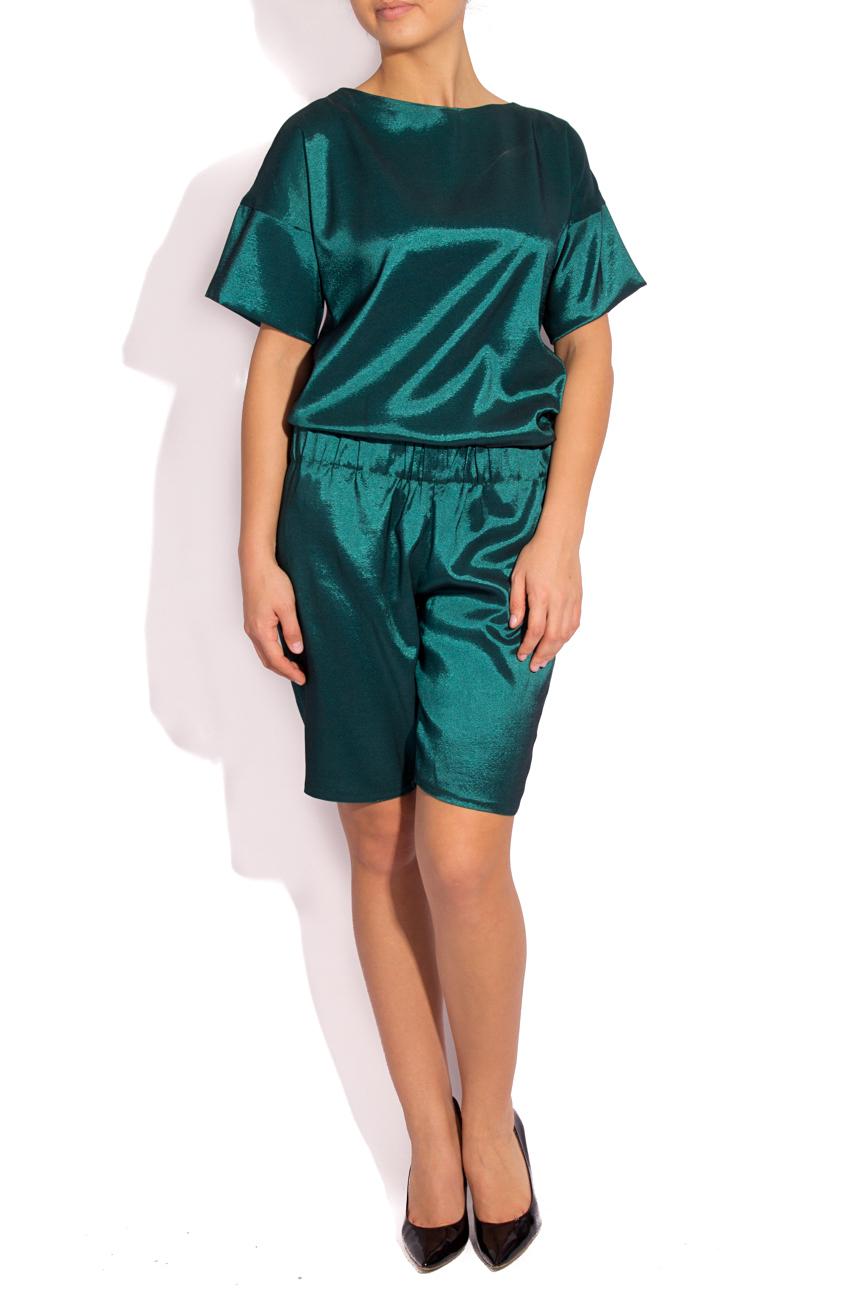 Pantalon vert émeraude Rue des Trucs image 0