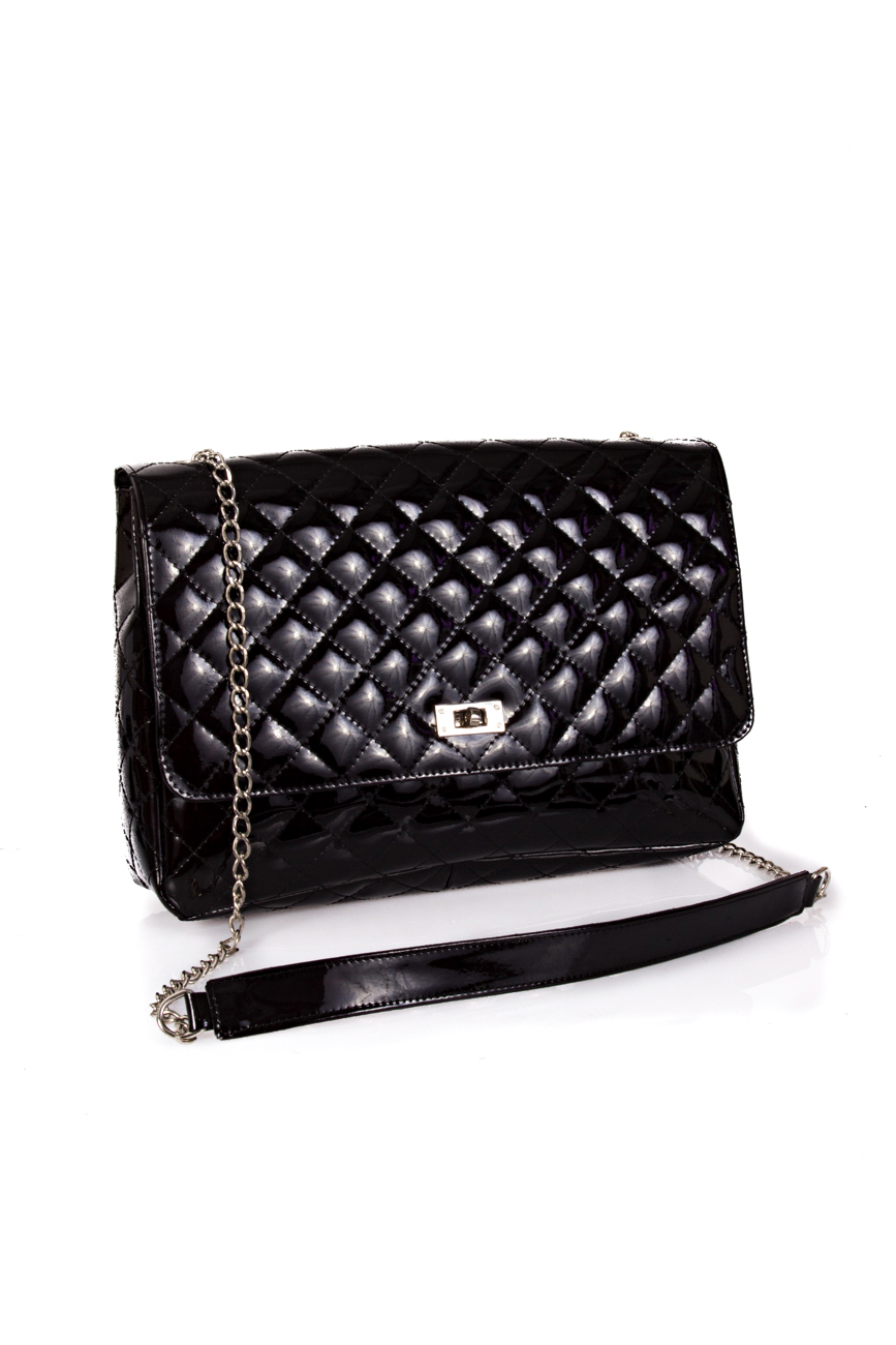 Black Quilted Bag Giuka by Nicolaescu Georgiana  image 0
