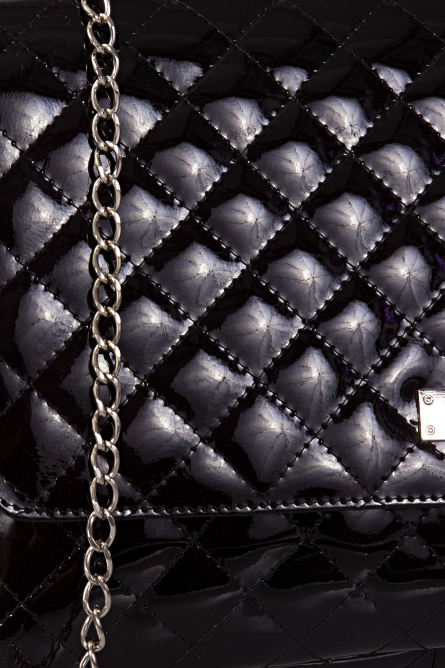Black Quilted Bag Giuka by Nicolaescu Georgiana  image 3