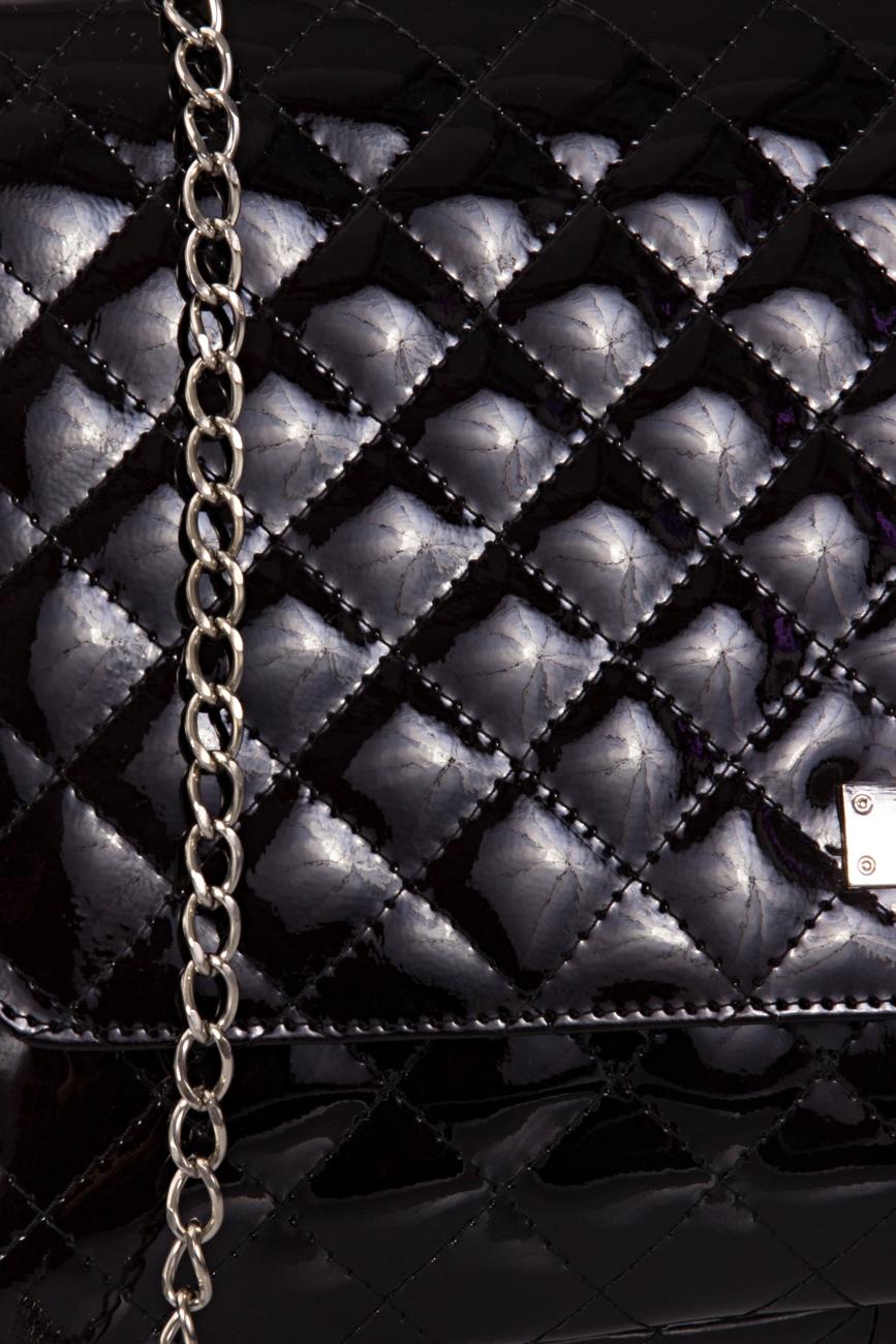 Black Quilted Bag Giuka by Nicolaescu Georgiana  image 3