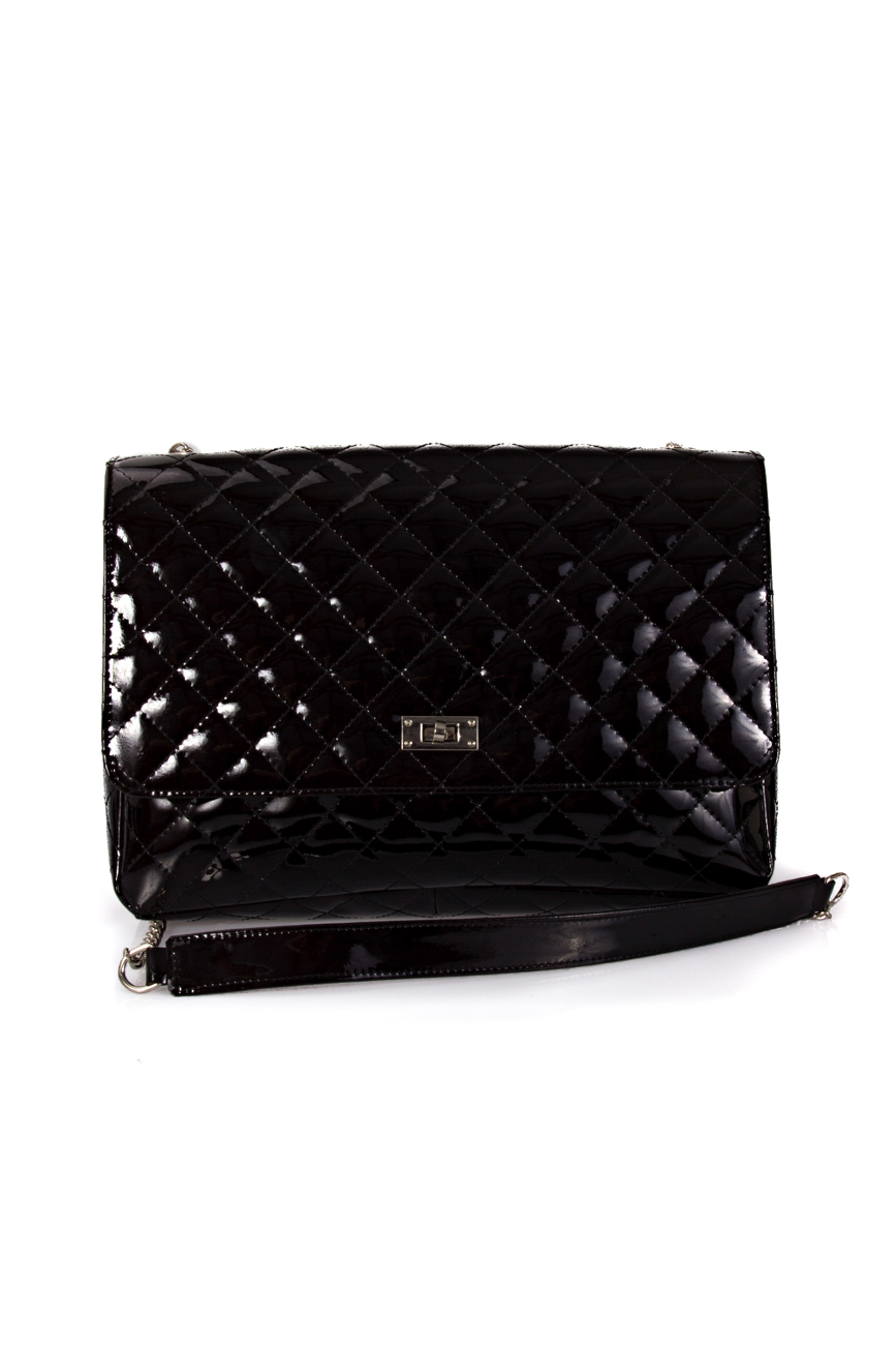 Black Quilted Bag Giuka by Nicolaescu Georgiana  image 1