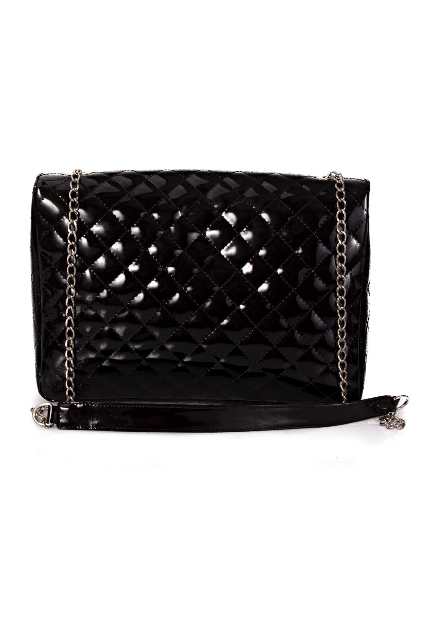 Black Quilted Bag Giuka by Nicolaescu Georgiana  image 2