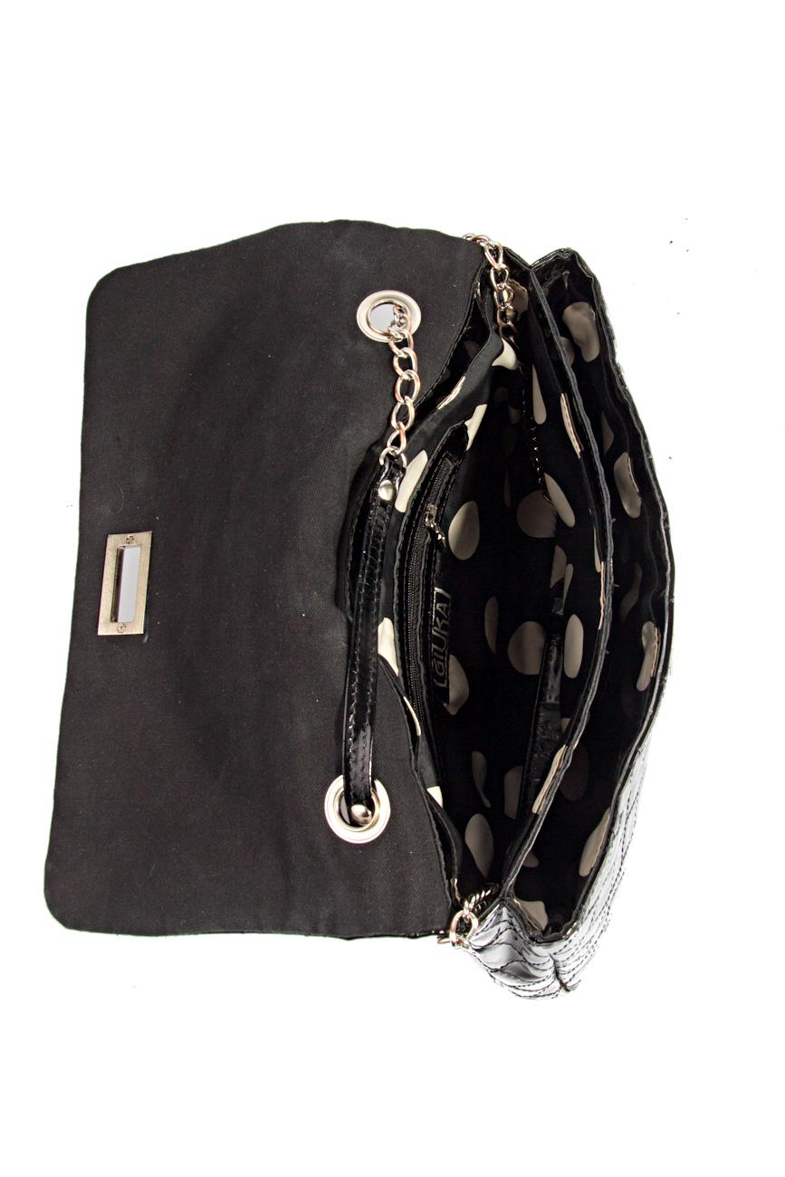 Black Quilted Bag Giuka by Nicolaescu Georgiana  image 4