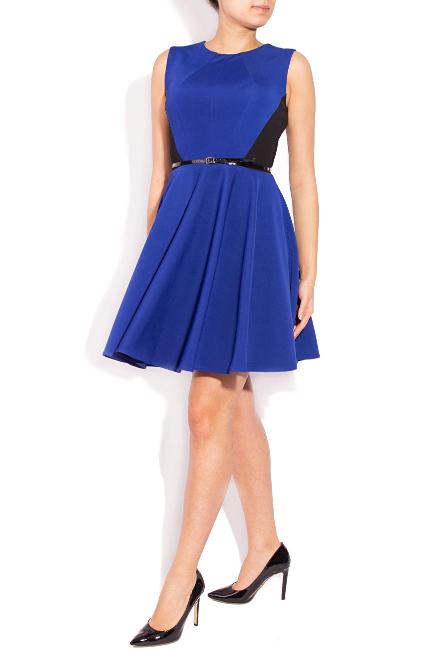 Sleeveless blue dress Laura Ciobanu image 0